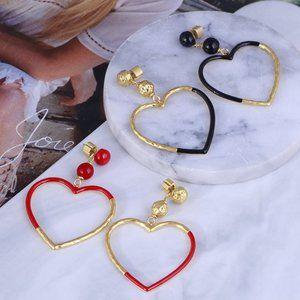 Kate Spade Asymmetric Heart Earrings